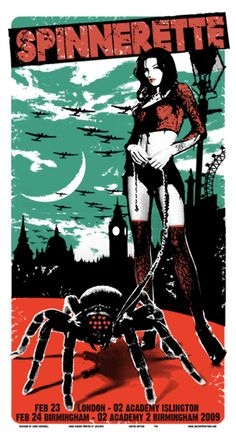 GigPosters.com - Spinnerette