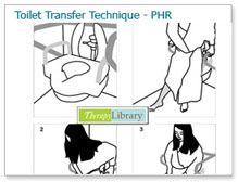 therapie: transfer naar het toilet