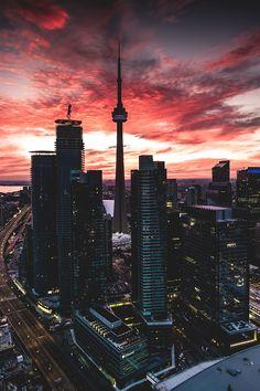 Super Ideas for landscape photos city Beautiful Landscape Photography, Landscape Photos, Beautiful Landscapes, City Landscape, Wallpaper Toronto, City Wallpaper, Toronto Ontario Canada, Toronto City, City Aesthetic