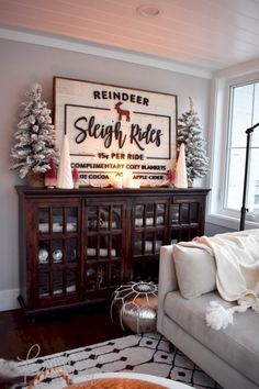 Our Cozy Christmas Living Room Kindred Vintage & Co. Treatment Projects Care Design home decor Christmas Time Is Here, Merry Little Christmas, Noel Christmas, Winter Christmas, Christmas Music, Christmas Mantels, Christmas Vacation, Christmas Trees For Sale, Christmas Qoutes