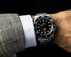 Rolex Watches For Men, Luxury Watches, Fancy Clock, Black Rolex, Best Looking Watches, Rolex Tudor, Rolex Submariner No Date, Range Rover Sport, Men's Collection