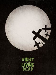 Minimal Movie Posters - Night of The Living Dead