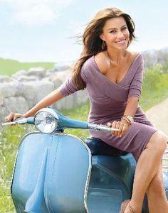 Who made Sofía Vergara's purple dress that she wore in Self magazine? Dress – Ralph Lauren