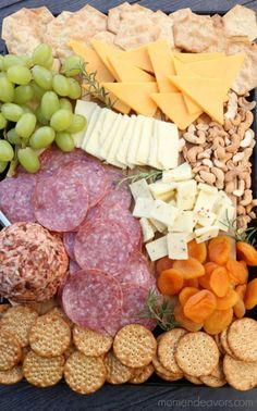 Kid-Friendly Cheese Board