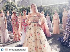"""""""#Repost @modaoperandi ・・・ If you've always dreamed of living in a fairytale, now you can at least look the part. Click the link in our profile to #Preo a…"""""""