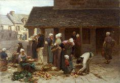 Αγορά στη Βρετάνη. (1877)