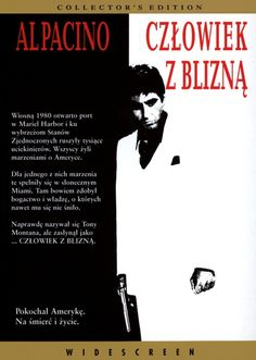 Al Pacino Michelle Pfeiffer Steven Bauer in Scarface DVD 1998 Collectors Edition Scarface Film, Al Pacino Scarface, Scarface Poster, Streaming Movies, Hd Movies, Movies Online, Movies And Tv Shows, Movie Tv, Frames