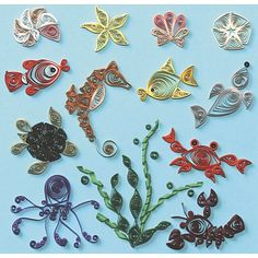 Quilled Creations Quilling Kits - Under The Sea | HSN