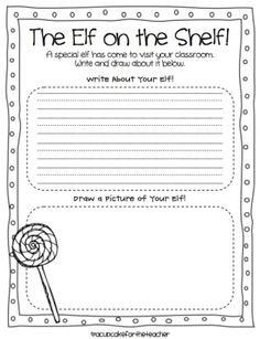 this file includes a holiday show and tell for your students to fill out and then share with the. Black Bedroom Furniture Sets. Home Design Ideas