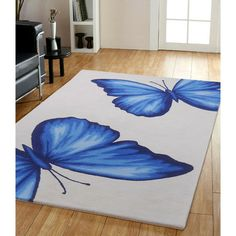 Flutter 5' x 8' Rug - for creative spaces