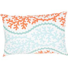 These fashion forward pillows, in trellis, stripes and whimsical patterns are for both indoor and outdoor use. - Color: Blue/Red - Material: 100% Polyester - Shipping: Ships within 5-7 days. US only.