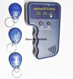 [Visit to Buy] Handheld 125KHz RFID ID Card Reader & Writer/Copier/Duplicator/Programmer + 3pcs EM4305 T5577 Writable Tags Access Control #Advertisement