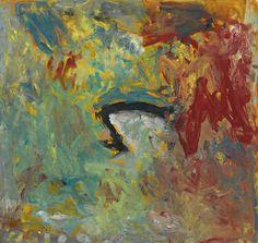 thunderstruck9:  Milton Resnick (American, 1917-2004), Untitled, 1959. Oil on canvas, 18 x 19 in. viajimlovesart