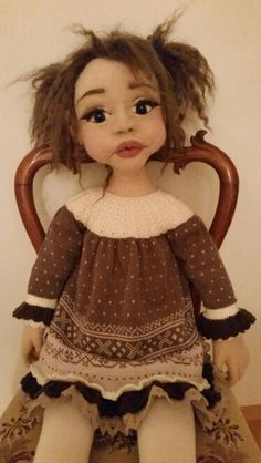 Doll 90 cm high.