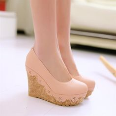 Cheap Pumps on Sale at Bargain Price, Buy Quality shoes shoes and more shoes, shoe and handbag sets, shoe zone shoes from China shoes shoes and more shoes Suppliers at Aliexpress.com:1,fashion element:shallow mouth, wedges 2,Decorations:Appliques 3,Upper Material:PU 4,Listing of the year season:2014 year spring 5,Heel Type:Wedges