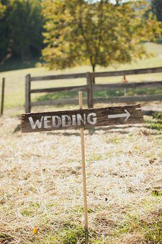 diy simple sign.