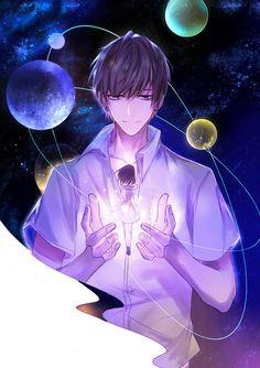 Anime Couples Art by 小呀嚒小二郎 - Cool Anime Guys, Handsome Anime Guys, Sad Anime, Cute Anime Boy, Anime Boys, Manga Drawing, Manga Art, Anime Art, Manga Anime