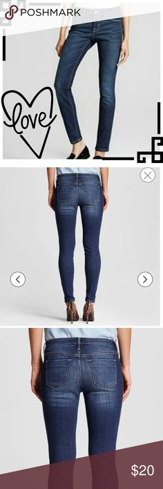 😍Mid-Rise Jeggings😍 6/28R New‼️Condition‼️ Worn once and laundered.:) Faux flat finished front pockets.💟PLEASE NOTE💟‼️THESE ARE NOT VS BRAND‼️NAME USED FOR EXPOSURE ONLY😀THEY ARE MOSSIMO DENIM. 💠SZ. 6/28 R💠 ~ New Listing~!!:) ALWAYS OPEN TO OFFERS & Awesome Bundle deals‼️😀👍 Victoria's Secret Jeans Skinny