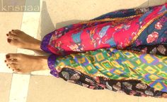 The Yippie Salwar by KRISNAA So much happening To be used anytime, anywhere