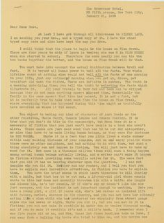 Cool letter between Rose Wilder Lane and Laura Ingalls Wilder sheds new light on the collaborative process of writing the Little House on the Prairie books.