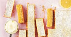 Seize the moment and make this updated take on the traditional lemon slice. Raspberry Coconut Slice, Lemon Slice, Kingston Biscuits, Jelly Cheesecake, No Bake Slices, Chocolate Slice, Tea Snacks, Lemon Dessert Recipes, Buttery Biscuits
