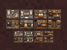 Detective Puzzles: Rooms
