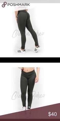 e7c46c6a73dda Celestial Bodiez v-cut booty scrunch leggings V-cut tapers your waist and  flatters