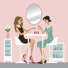 Things To Watch For On Your Next Trip To The Nail Salon We're not asking you to give up your favorite self-care habit, but we are suggesting you watch for certain red flags at your salon. Ongles Forts, Beauty Hacks For Teens, Nail Logo, Ingrown Hair, How To Apply Makeup, Manicure And Pedicure, Beauty Routines, Belle Photo, Makeup Yourself
