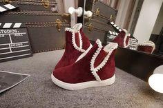 Promotion Snow Boots Flat Women Winter Shoes Inside Plush Casual Keep Warm Flock Bottes Femmes 2015 Botas Australia Shoes Women