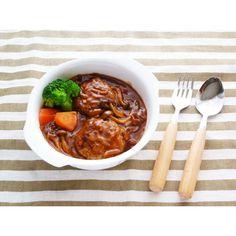 クミタス レシピ 簡単煮込みハンバーグ(小麦、乳、大豆不使用)