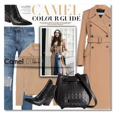 """""""camel coat"""" by nanawidia ❤ liked on Polyvore featuring Jil Sander, AG Adriano Goldschmied, J.W. Anderson, Kendall + Kylie, Zara, CasualChic, polyvoreeditorial, polyvorecontest and camelcoat"""