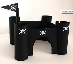 making a castle out of cardboard | Make Your Own Pirate or Princess Castle