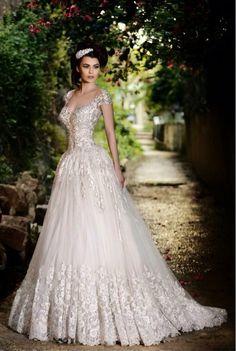 Wedding dress by Rami Salamoun