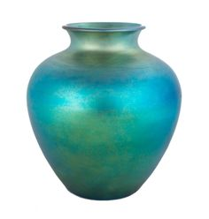 Buy online, view images and see past prices for Steuben Blue Aurene Vase. Corning Glass, Steuben Glass, Sandblasted Glass, Blown Glass Art, Art Deco Glass, Antique Auctions, Stained Glass Art, Lampshades, Pottery Art