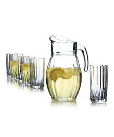 Look at this Boca Pitcher & Glass Set on #zulily today!