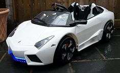 Battery Reconditioning - Kids 2 Seater Lamborghini Style Sports Car with Remote Control Electric / Battery Ride on Car - Save Money And NEVER Buy A New Battery Again Toy Cars For Kids, Golf Cart Batteries, Power Wheels, Kids Ride On, Lead Acid Battery, Diy Car, Car Cleaning, Radio Control, Childcare