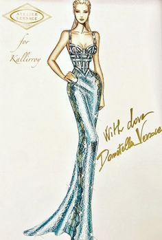 Fashion Design Sketchbook, Fashion Design Drawings, Fashion Sketches, Fashion Drawing Dresses, Fashion Illustration Dresses, Atelier Versace, Fashion Figures, Fashion Models, Corset Sewing Pattern