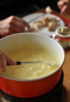 Eating Cheese Fondue in Switzerland:  My First Taste of Real Swiss Fondue