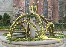 Osterbrunnen in Haselünne (Emsland)