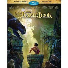 The Jungle Book (Blu-ray/DVD + Digital) : Target