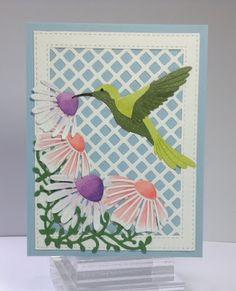 Crafting While I Wait: Dancing Hummingbirds