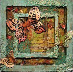 MvM-Scrapdesigns: Love Butterflies.