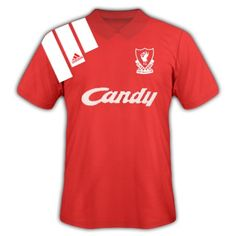 23cfdd7d7 Liverpool home shirt for the 1992 FA Cup Final.