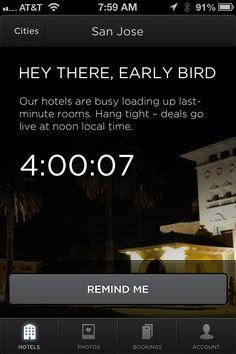 Notice from Hotel Tonight › PatternTap