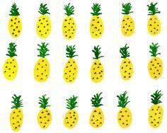 Pineapple Card by GirlChewingGum