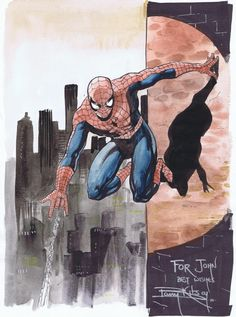 Spider-Man by Barry Kitson