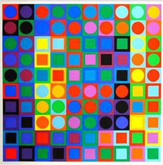 vasarely couleur