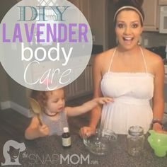 Click on the link to watch this Lavender Tutorial!  http://www.thesnapmom.com/diy-lavender-foot-scrub-and-face-wash/