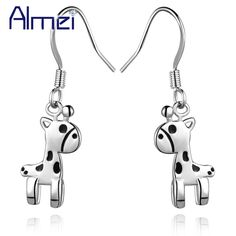 Find More Stud Earrings Information about Rose Gold Plated Horse Fashion Earrings Stud Black Enamel Silver Free Shipping Korean Earrings for Women Bezhuteriya Ulove R455,High Quality earring pendant,China earring and necklace stand Suppliers, Cheap earring storage from Almei Jewelry Store on Aliexpress.com