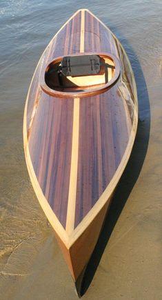 Wood Duck 10 Hybrid Recreational Kayak: An Ultra-light Kayak with a Cedar Strip Deck! Wood Duck 10 Hybrid Recreational Kayak: An Ultra-light Kayak with a Cedar Strip Deck! Kayaks, Wooden Kayak, Wooden Boats, Wood Canoe, Wooden Surfboard, Canoe And Kayak, Kayak Fishing, Recreational Kayak, Cool Boats